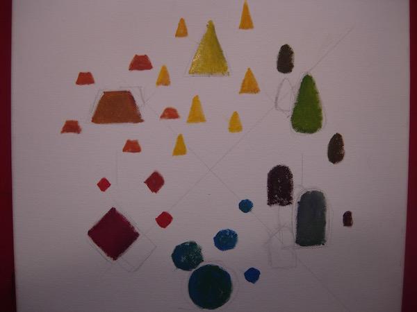 Diagramme des formes et des couleurs