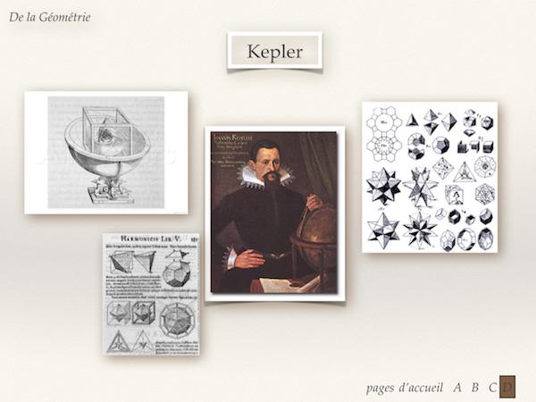 Modélisation de l'Univers selon Kepler