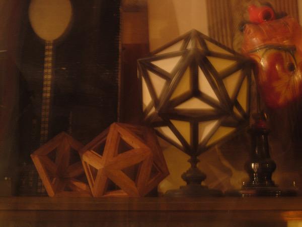 Polyèdres en bois