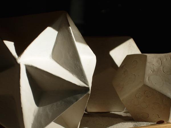 Polyèdres en porcelaine