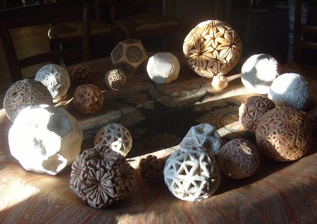 Sculptures polyédriques