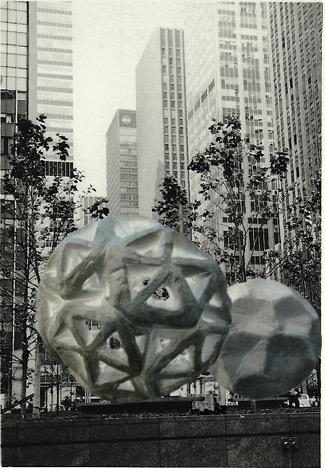 Sculptures à New-York